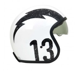 Open face helmet Urban, Vintage, Retro SPRINT style by ORIGINE Gasoline white 3
