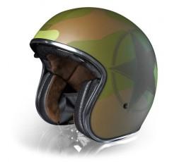 Open face helmet Urban, Vintage, Retro SPRINT style by ORIGINE Army 1