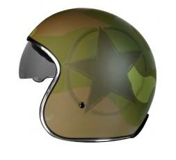 Open face helmet Urban, Vintage, Retro SPRINT style by ORIGINE Army 2
