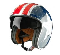 Open face helmet Urban, Vintage, Retro SPRINT style by ORIGINE Rebel Star 1