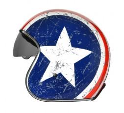 Open face helmet Urban, Vintage, Retro SPRINT style by ORIGINE Rebel Star 2