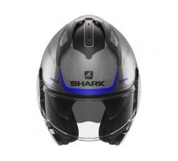 Casque modulable modèle EVO GT ENCKE de SHARK bleu 3