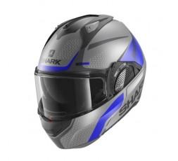 SHARK EVO GT ENCKE modular helmet BLUE 4