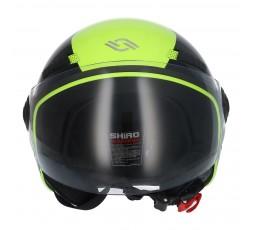 SHIRO SH-62 Oxford Open-face Helmet yellow 2