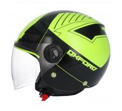 SHIRO SH-62 Oxford Open-face Helmet yellow 1
