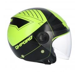 SHIRO SH-62 Oxford Open-face Helmet yellow 4