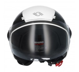 SHIRO SH-62 Oxford Open-face Helmet white 2