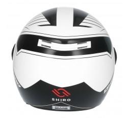 SHIRO SH-62 Oxford Open-face Helmet white 3
