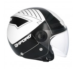 SHIRO SH-62 Oxford Open-face Helmet white 4