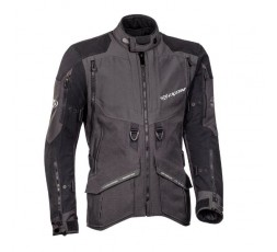 Motorcycle jacket TRAIL / MAXI TRAIL / AVENTURA model RAGNAR by IXON black/ dark grey 1