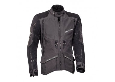 Motorcycle jacket TRAIL / MAXI TRAIL / AVENTURA model RAGNAR by IXON black/ dark grey 1