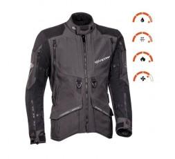 Motorcycle jacket TRAIL / MAXI TRAIL / AVENTURA model RAGNAR by IXON black/ dark grey 3