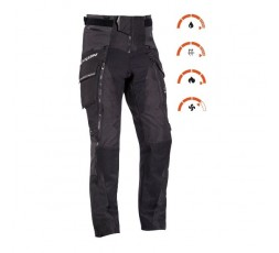 Trail and Maxi Trail motorcycle pants model RAGNAR by Ixon black/ dark grey 3