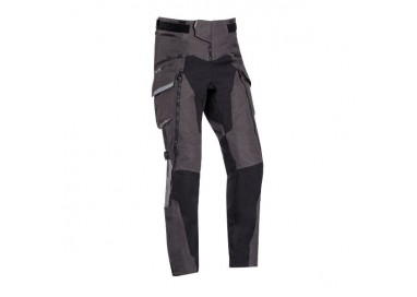 Trail and Maxi Trail motorcycle pants model RAGNAR by Ixon black/ dark grey/ grey 1