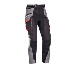 Trail and Maxi Trail motorcycle pants model RAGNAR by Ixon black/ dark grey/ grey/ red 1