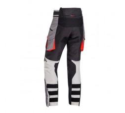 Trail and Maxi Trail motorcycle pants model RAGNAR by Ixon black/ dark grey/ grey/ red 2