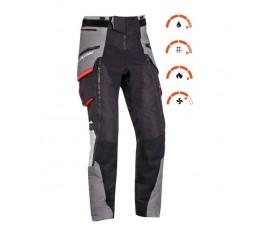 Trail and Maxi Trail motorcycle pants model RAGNAR by Ixon black/ dark grey/ grey/ red 3