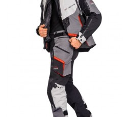 Trail and Maxi Trail motorcycle pants model RAGNAR by Ixon black/ dark grey/ grey/ red 4
