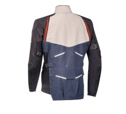 Motorcycle jacket TRAIL / MAXI TRAIL / ADVENTURE model EDDAS by Ixon blue 2