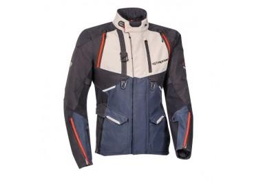 Motorcycle jacket TRAIL / MAXI TRAIL / ADVENTURE model EDDAS by Ixon blue 1