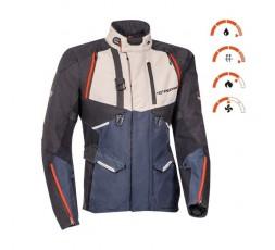 Motorcycle jacket TRAIL / MAXI TRAIL / ADVENTURE model EDDAS by Ixon blue 3