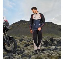 Chaqueta moto Trail, Maxi Trail Aventura modelo EDDAS de Ixon azul 5
