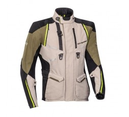 Motorcycle jacket TRAIL / MAXI TRAIL / ADVENTURE model EDDAS by Ixon green kaky 1