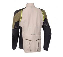 Motorcycle jacket TRAIL / MAXI TRAIL / ADVENTURE model EDDAS by Ixon green kaky 2