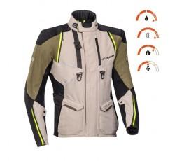 Motorcycle jacket TRAIL / MAXI TRAIL / ADVENTURE model EDDAS by Ixon green kaky 3