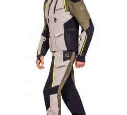 Motorcycle jacket TRAIL / MAXI TRAIL / ADVENTURE model EDDAS by Ixon green kaky 4