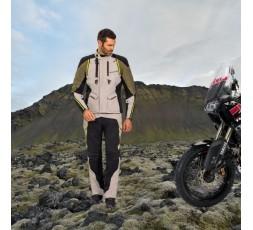 Motorcycle jacket TRAIL / MAXI TRAIL / ADVENTURE model EDDAS by Ixon green kaky 5