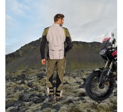Motorcycle jacket TRAIL / MAXI TRAIL / ADVENTURE model EDDAS by Ixon green kaky 6
