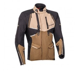 Motorcycle jacket TRAIL / MAXI TRAIL / ADVENTURE model EDDAS by Ixon brown 1