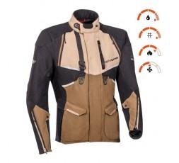Motorcycle jacket TRAIL / MAXI TRAIL / ADVENTURE model EDDAS by Ixon brown 3