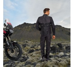 Motorcycle jacket TRAIL / MAXI TRAIL / ADVENTURE model EDDAS by Ixon black 6