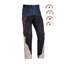 Motorcycle pants for use Trail, Maxi Trail, Adventure EDDAS PANT by Ixon blue 3