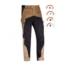 Motorcycle pants for use Trail, Maxi Trail, Adventure EDDAS PANT by Ixon brown 3