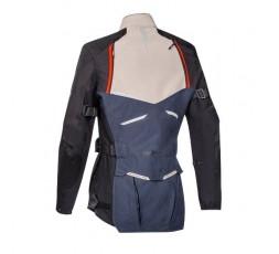 Chaqueta moto mujer uso Trail, Maxi Trail, Aventura EDDAS LADY de Ixon azul 2