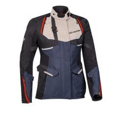 Chaqueta moto mujer uso Trail, Maxi Trail, Aventura EDDAS LADY de Ixon azul 1