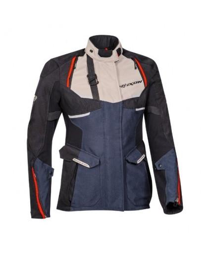 Veste de moto femme TRAIL / MAXI TRAIL / AVENTURA modèle EDDAS LADY by IXON