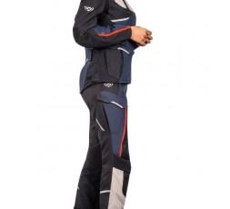 Veste de moto femme TRAIL / MAXI TRAIL / AVENTURA modèle EDDAS LADY by IXON bleu 4