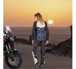 Motorcycle lady jacket TOURING / ADVENTURE model EDDAS LADY by IXON blue 6