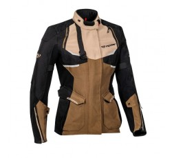 Motorcycle lady jacket TOURING / ADVENTURE model EDDAS LADY by IXON brown 1