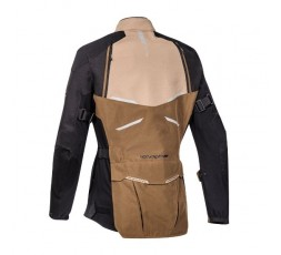 Motorcycle lady jacket TOURING / ADVENTURE model EDDAS LADY by IXON brown 2