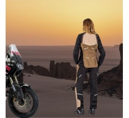 Motorcycle lady jacket TOURING / ADVENTURE model EDDAS LADY by IXON brown 6