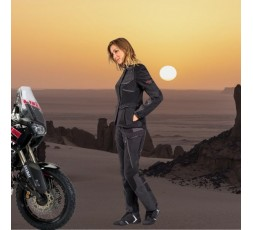 Motorcycle lady jacket TOURING / ADVENTURE model EDDAS LADY by IXON black 5