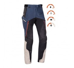 Pantalon de moto pour femme type Trail, Maxi Trail, Adventure EDDAS PT L de Ixon bleu 3