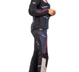 Pantalon de moto pour femme type Trail, Maxi Trail, Adventure EDDAS PT L de Ixon bleu 4