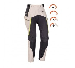 Women's motorcycle pants for Trail, Maxi Trail, Adventure EDDAS PT L by Ixon green kaky 3