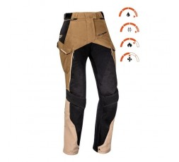 Women's motorcycle pants for Trail, Maxi Trail, Adventure EDDAS PT L by Ixon brown 3